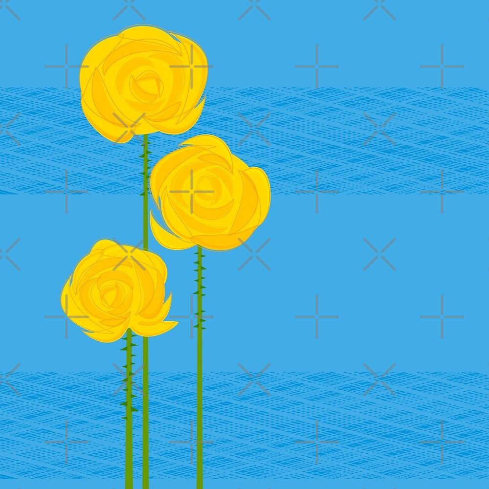 Yellow Roses by rusanovska
