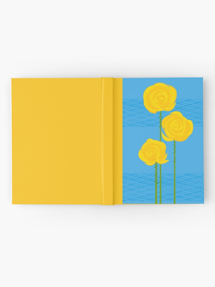 Alternate view of Yellow Roses Hardcover Journal