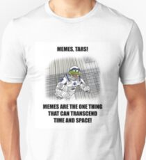 """Memes, TARS!"" Interstellar Design T-Shirt"