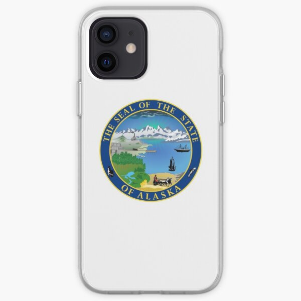 Alaska AK Official State Seal iPhone Soft Case