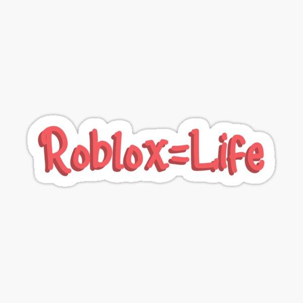 Roblox ist das Leben Sticker