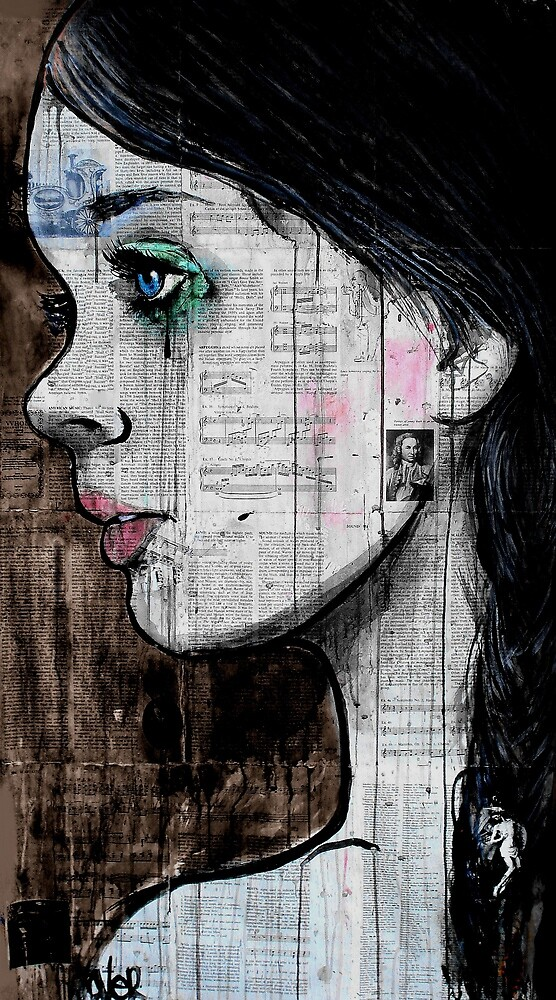 the black tear by Loui  Jover