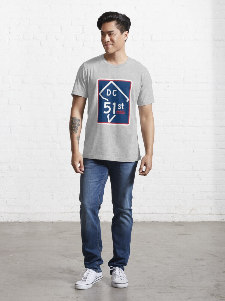 Alternate view of The Road To Statehood - DC 51 (#2) Essential T-Shirt