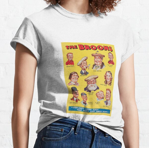 The Broons 1940 Vintage Print. Classic T-Shirt