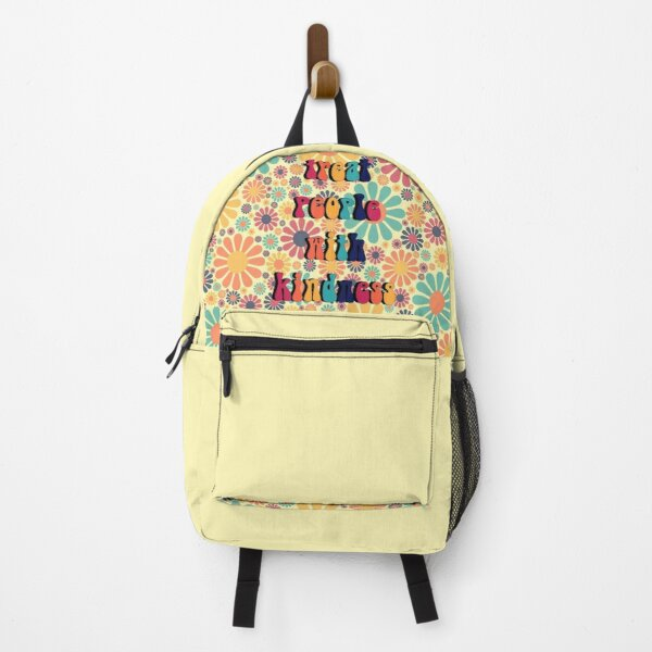 Treat People With Kindness Groovy Backpack