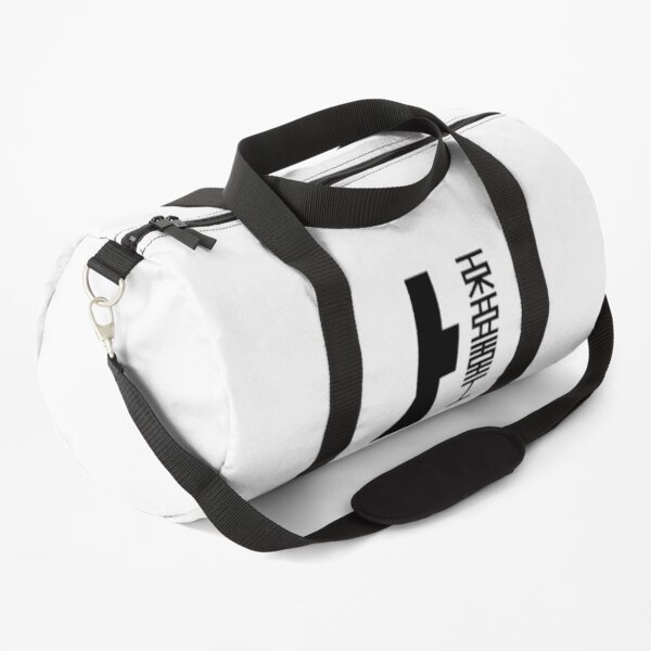 TOA HEAVY INDUSTRIES (Black Logo) Duffle Bag