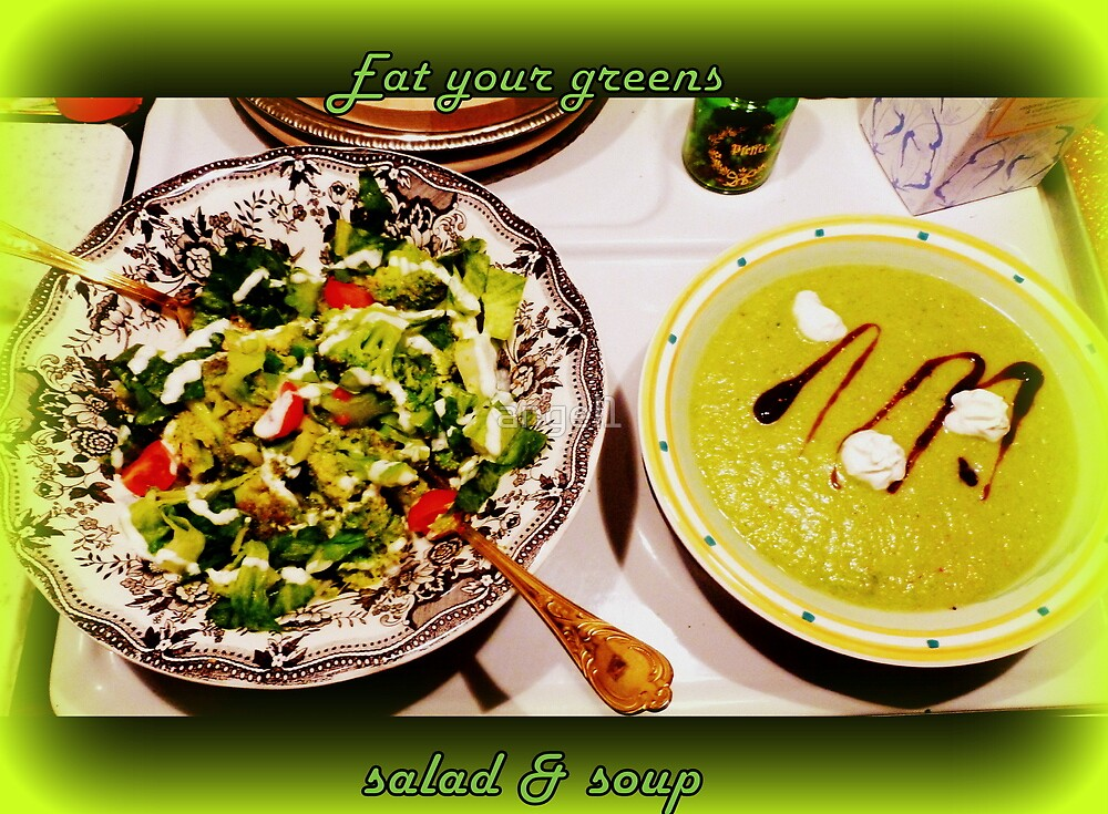 Eat your GREENS take TWO!!! by ©The Creative  Minds