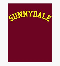 Sunnydale High School - Buffy Photographic Print