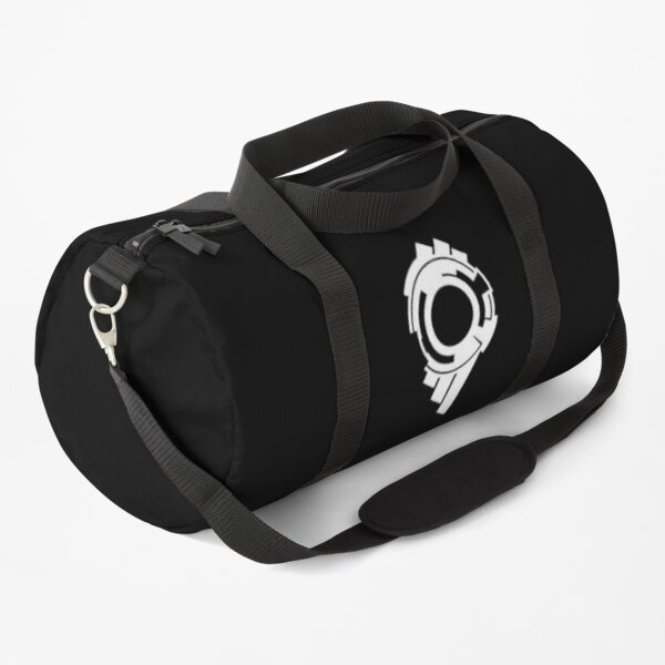 Ghost in the Shell - Public Security Section 9 Logo (White Logo) Duffle Bag