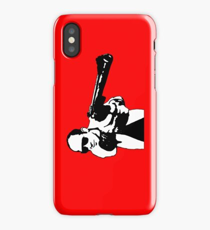 Hunter S Thompson - Gun iPhone Case/Skin