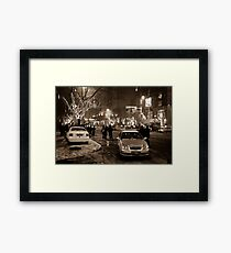 China - Beijing - Streetscape Framed Print