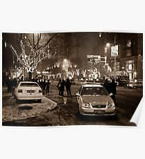 China - Beijing - Streetscape Poster