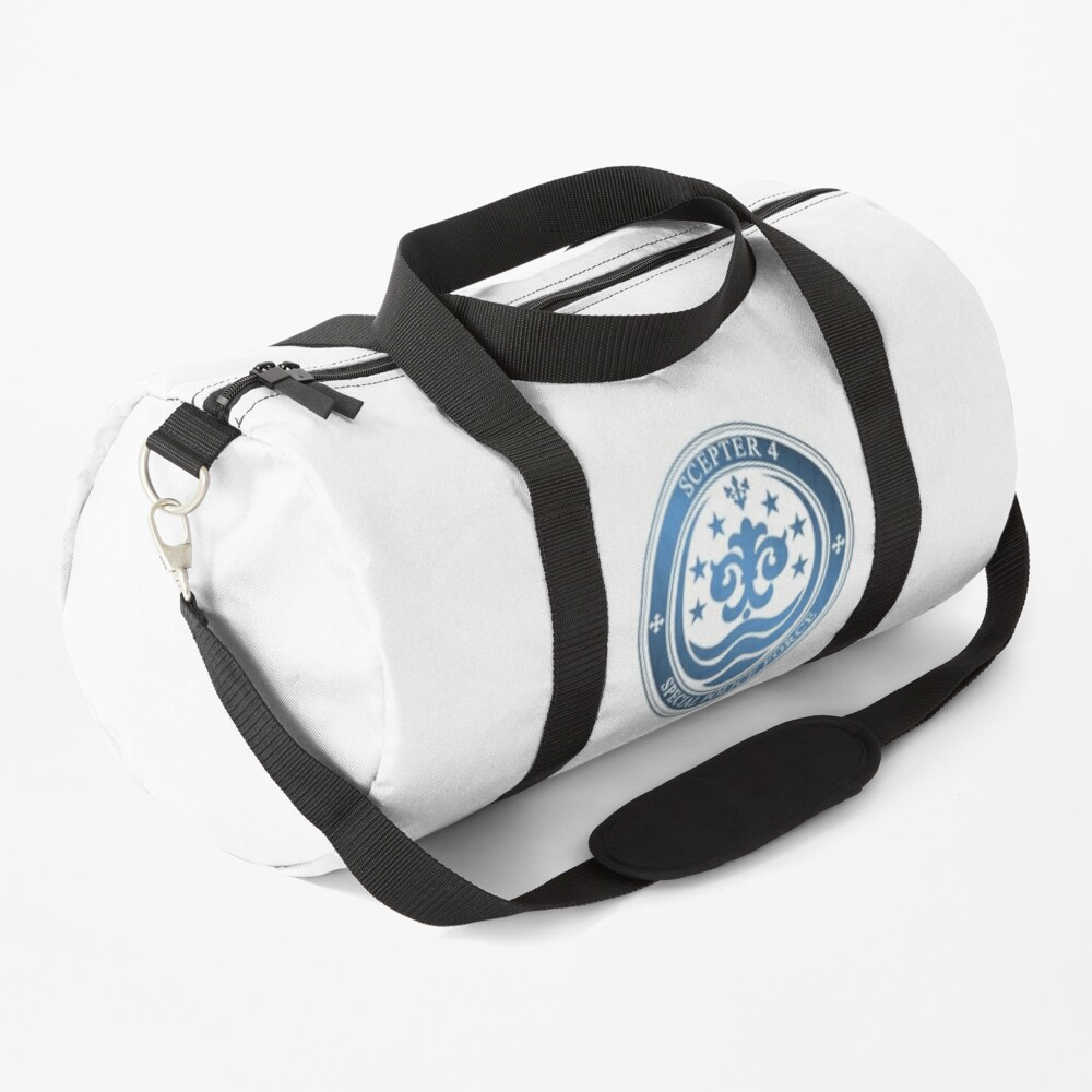 K: Return of Kings - SCEPTER 4 Emblem (Blue Clan) Duffle Bag