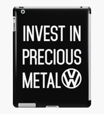Invest In Precious Metal VW :) iPad Case/Skin