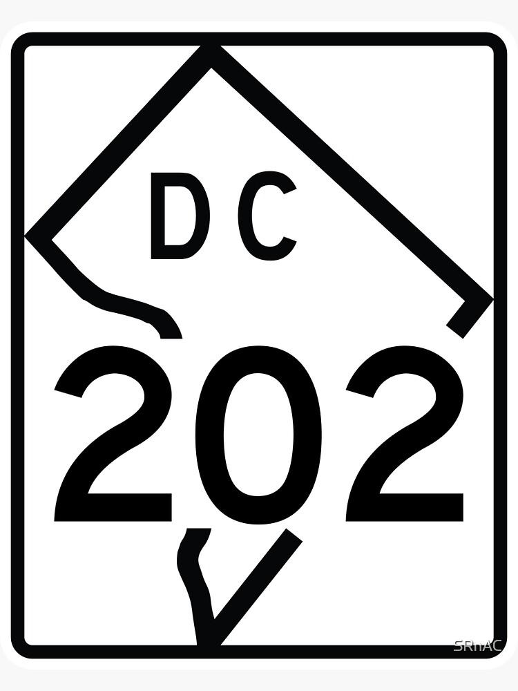 Washington DC Route 202 (Area Code 202) by SRnAC