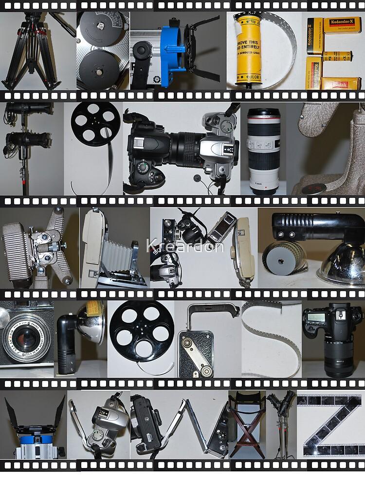 Photography/Film Alphabet by Kreardon