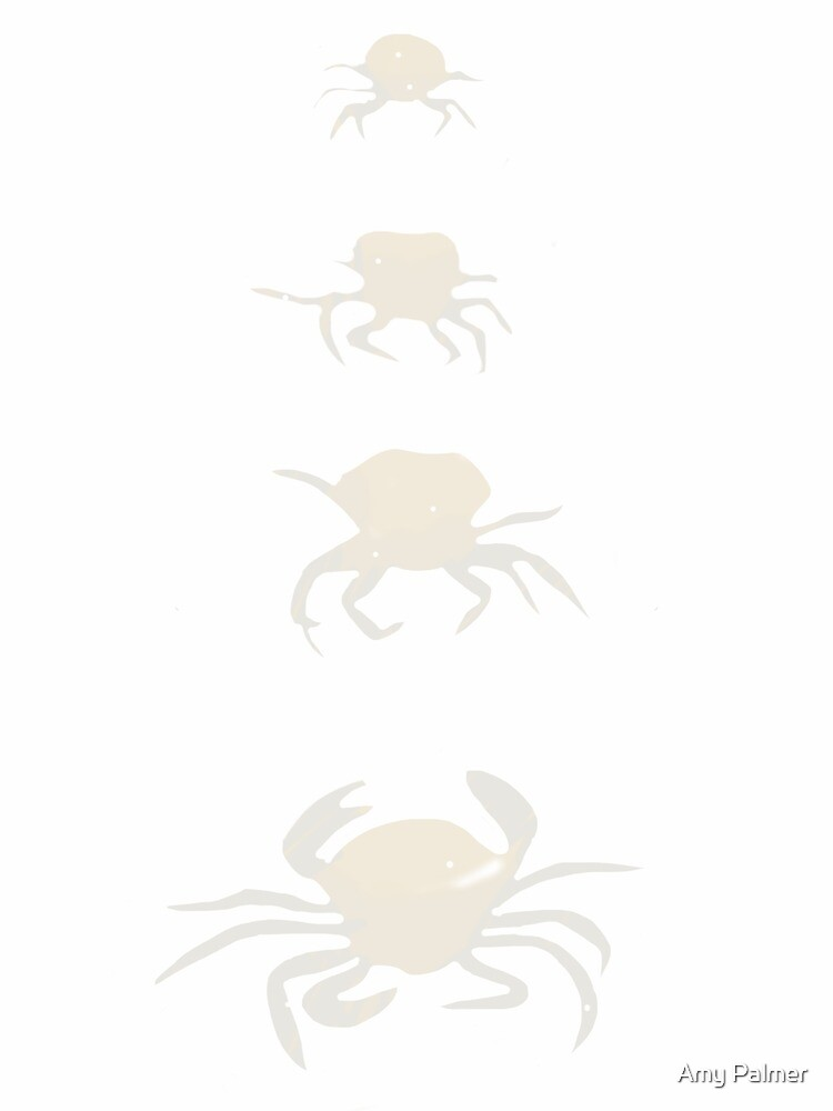 Four crabs by Amy Palmer
