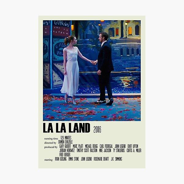 La La Land Alternative Poster Art Movie Large (3) Photographic Print
