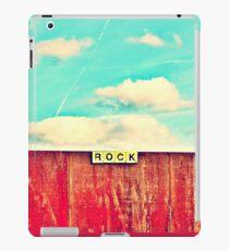 ROCK iPad Case/Skin