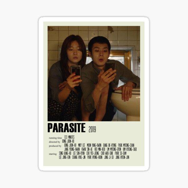 Parasite Alternative Poster Art Movie Large (1) Sticker