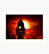 Leeds Town Hall Art Print