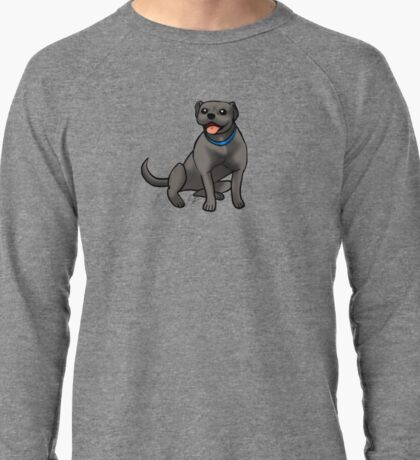 Pitbull - Black Lightweight Sweatshirt