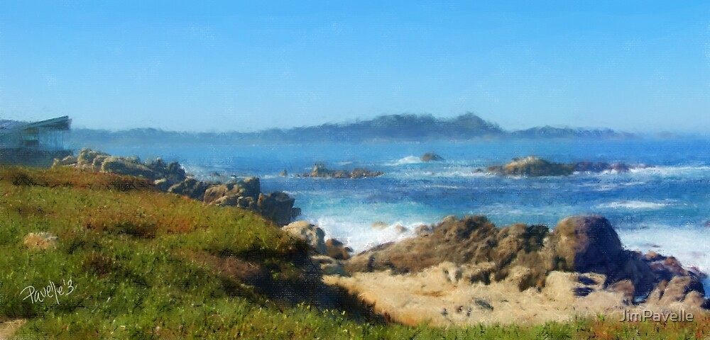 Carmel Bay and Point Lobos by JimPavelle