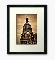 Leeds Town Hall Framed Print