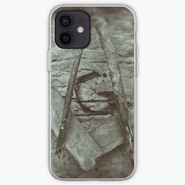 Rustic Square and Compasses 2 iPhone Soft Case