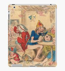 Un Petit souper a la Parisienne by Gillray iPad Case/Skin