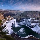 Winter at Palouse Falls by Dan Mihai