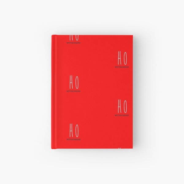 Ho, Ho, Ho, Merry Christmas! Hardcover Journal