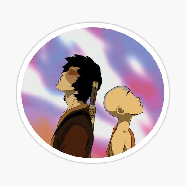 Zuko and Aang Dragon Dance Sticker