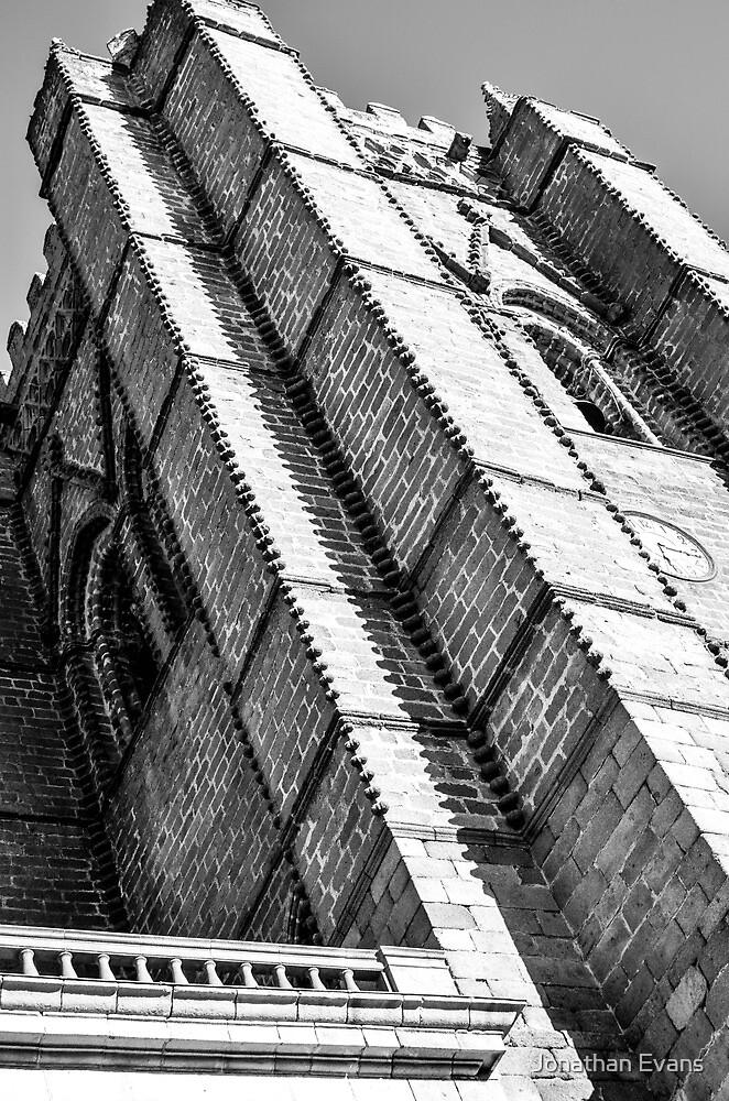 Church tower by Jonathan Evans