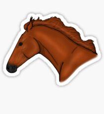 Chestnut Horse Sticker