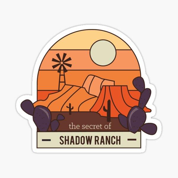 The Secret of Shadow Ranch Sticker