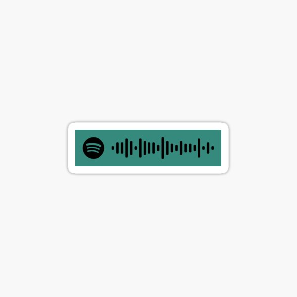 Blondie by Current Joys Spotify Code Sticker