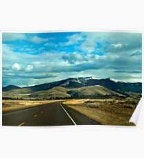 The Big Sky (Eastern Sanders County) Montana Poster