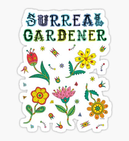 Surreal Gardener Sticker