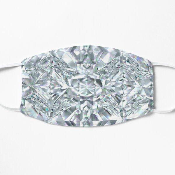 White Diamond Flat Mask