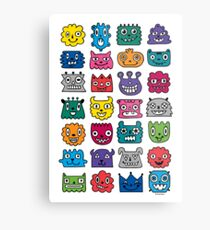 Monster Mash iphone case Metal Print
