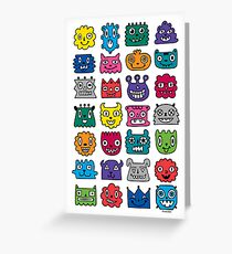 Monster Mash iphone case Greeting Card