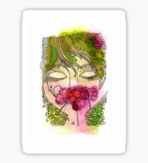 Cherry Girl Sticker
