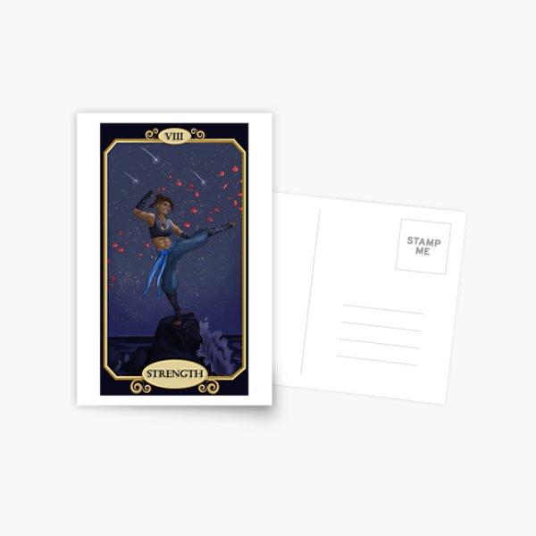 Beau Strength Card Postcard