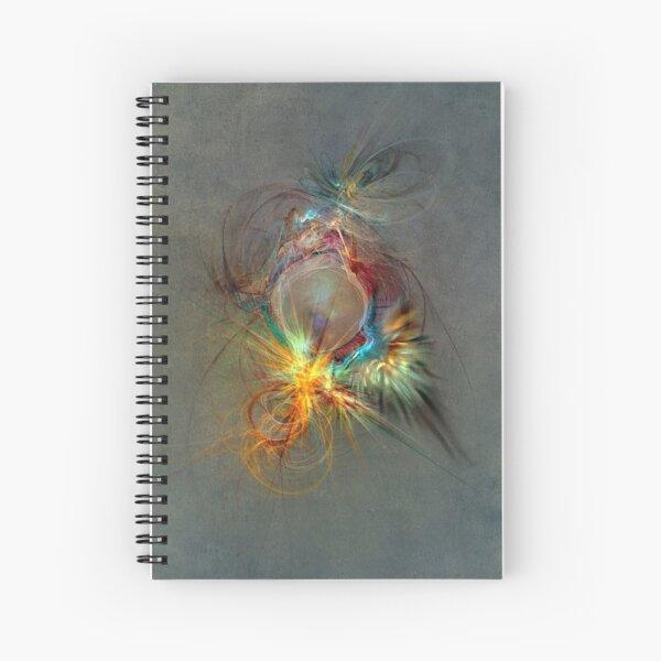 Fractal Art Beauty Spiral Notebook