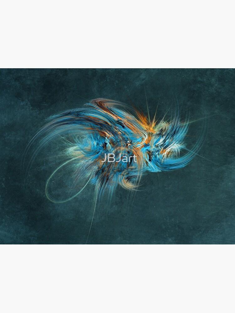Blue Hornet Fractal Art by JBJart