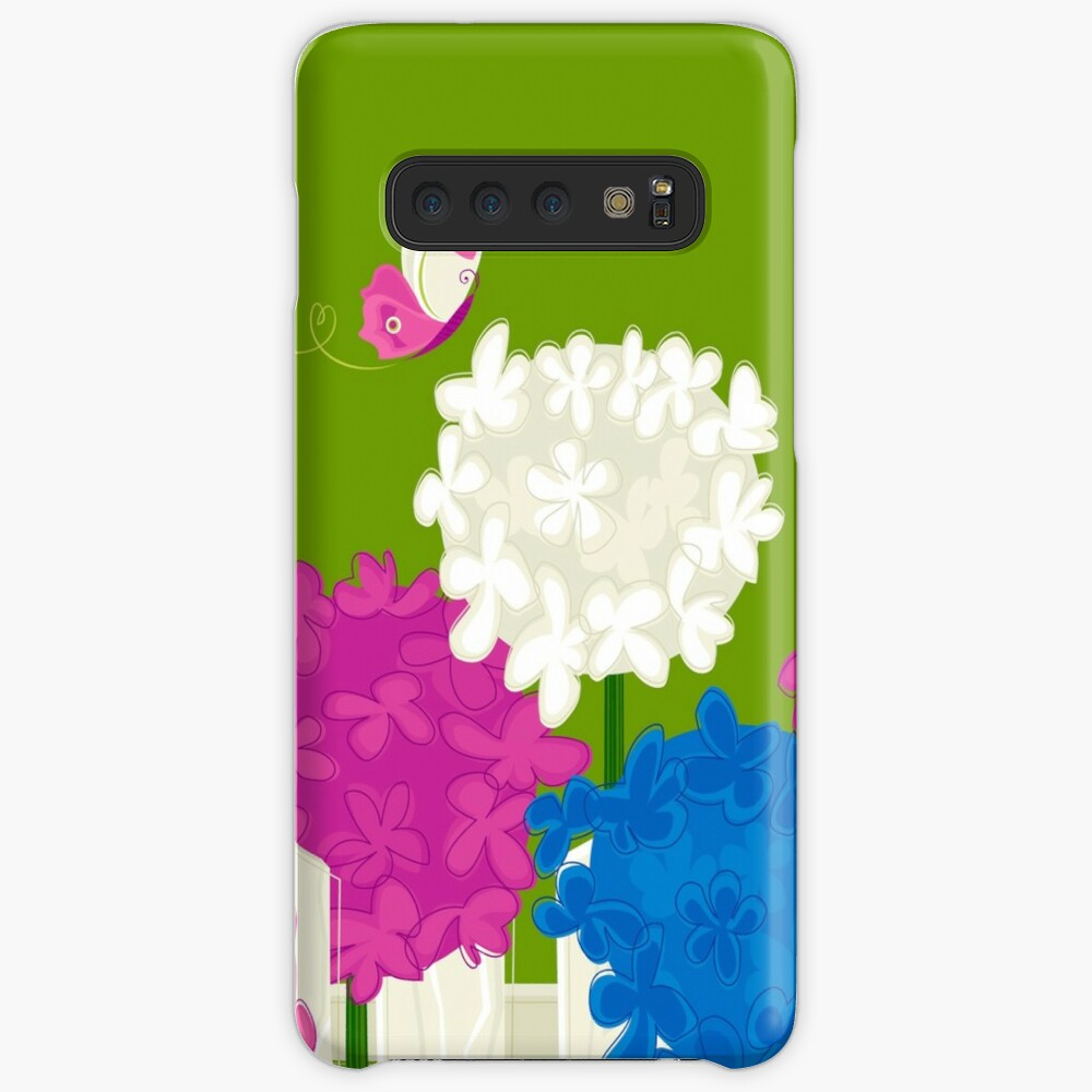 Flower Garden Case & Skin for Samsung Galaxy