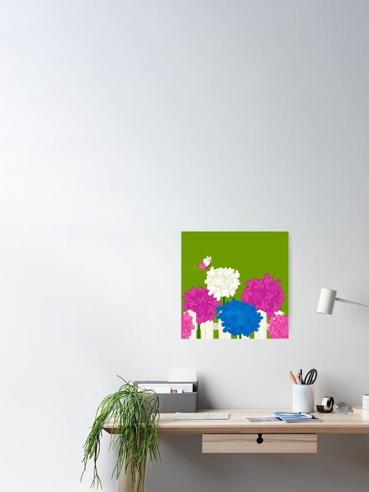 Alternate view of Flower Garden Poster