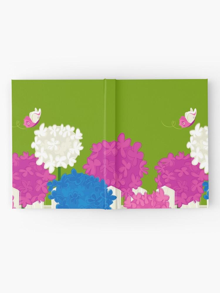 Alternate view of Flower Garden Hardcover Journal