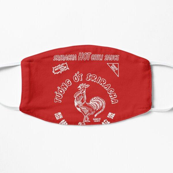sriracha sauce logo Mask